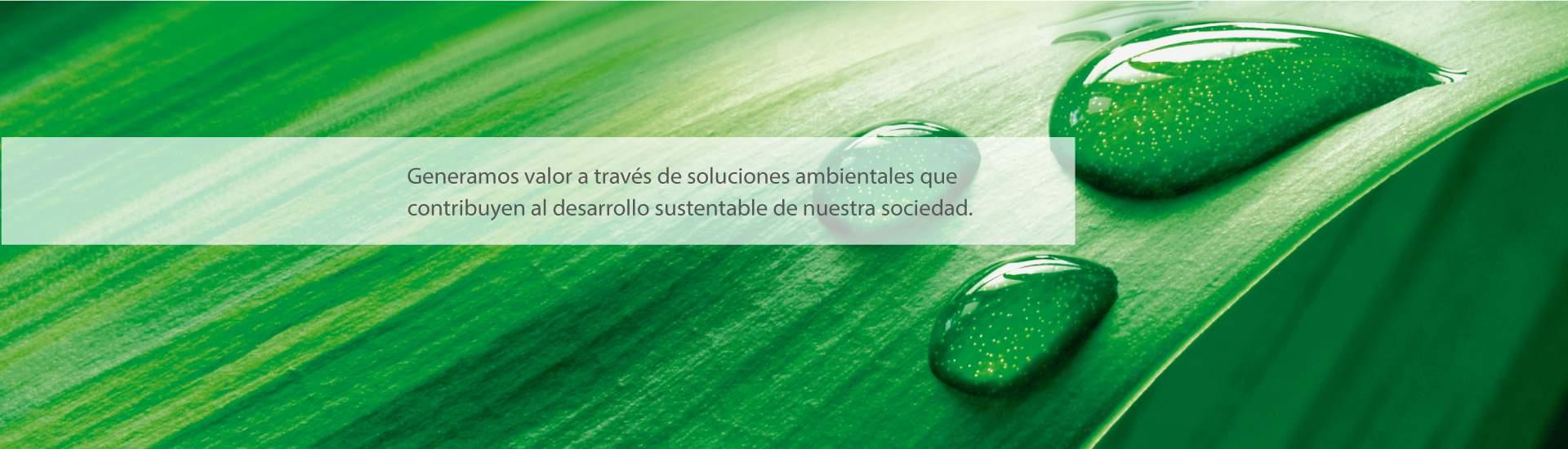 Generamos valor a través de soluciones seguras, sustentables y eficientes para cada uno de nuestros clientes.
