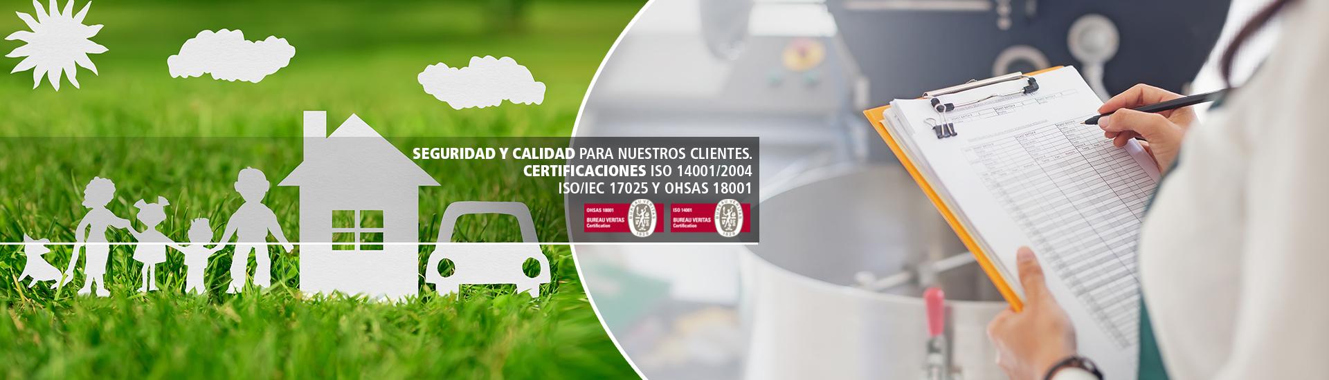 Poseemos certificaciones ISO