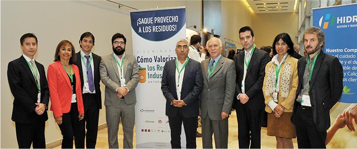 """Seminario """"Cómo valorizar residuos industriales"""" en Antofagasta"""