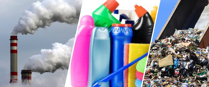 Tres residuos que contaminan nuestro planeta