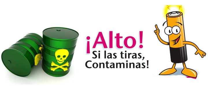 Las pilas son residuos peligrosos