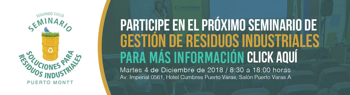 Hidronor presente en Seminario sobre Gestión de Residuos Industriales en la Ciudad de Puerto Varas