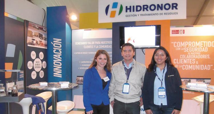 Hidronor participa en Feria Internacional Exponor 2013