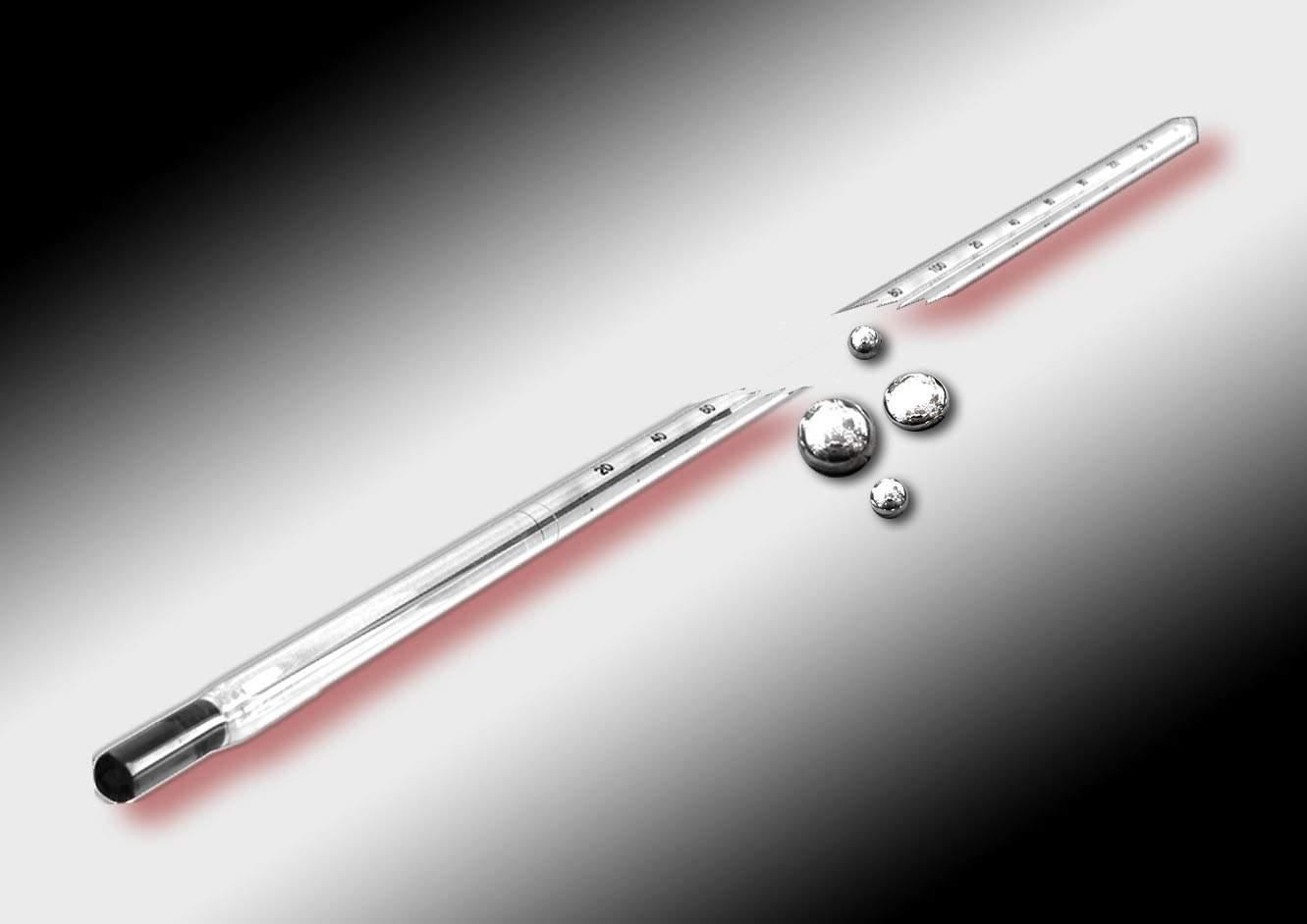 Cómo limpiar el mercurio cuando se rompe un termómetro