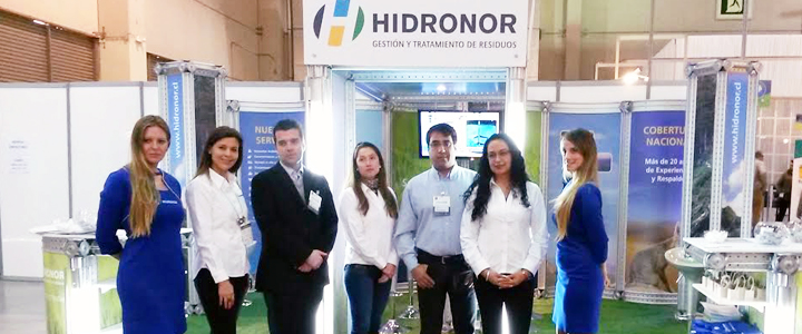 Hidronor Chile en Expo AmbientAL 2015