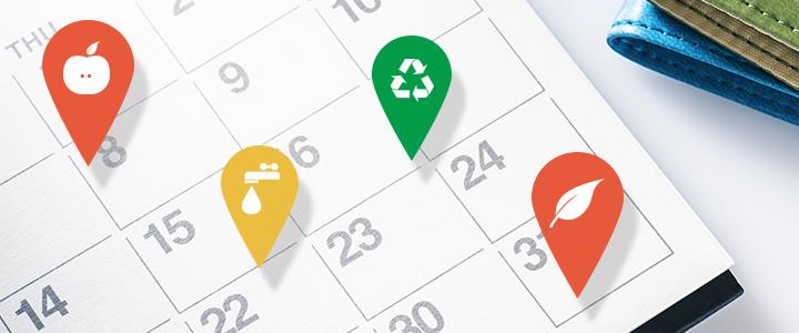 Conoce nuestro nuevo calendario ambiental online