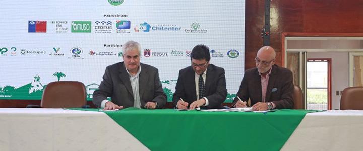 El Municipio de Pudahuel se sumó al Sistema de Certificación Ambiental