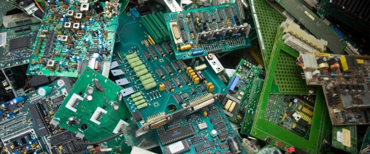 Recuperación de E-waste en el país