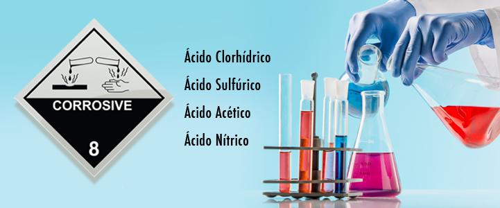 ¿Qué son las sustancias corrosivas?