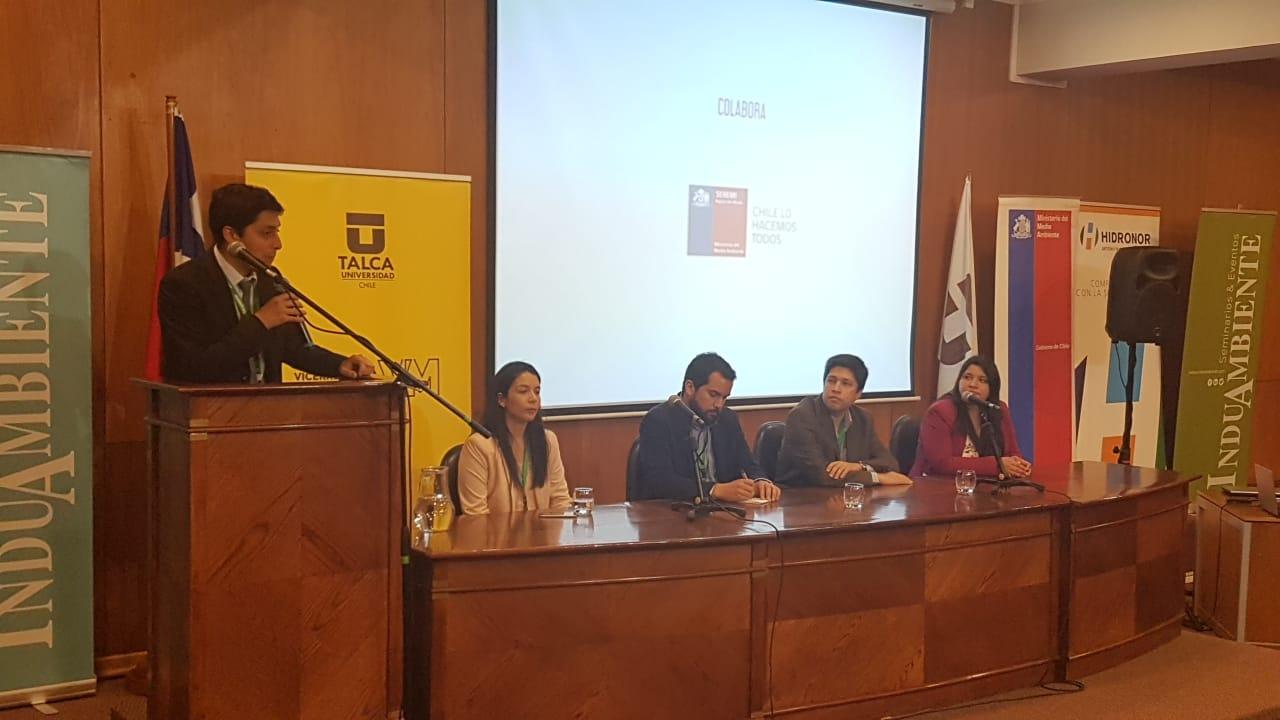 """""""Jornada Universitaria para gestión de Residuos en la Universidad de Talca"""