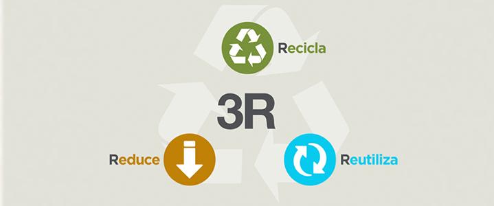 Reducir, Reutilizar y Reciclar es el desafió de todos