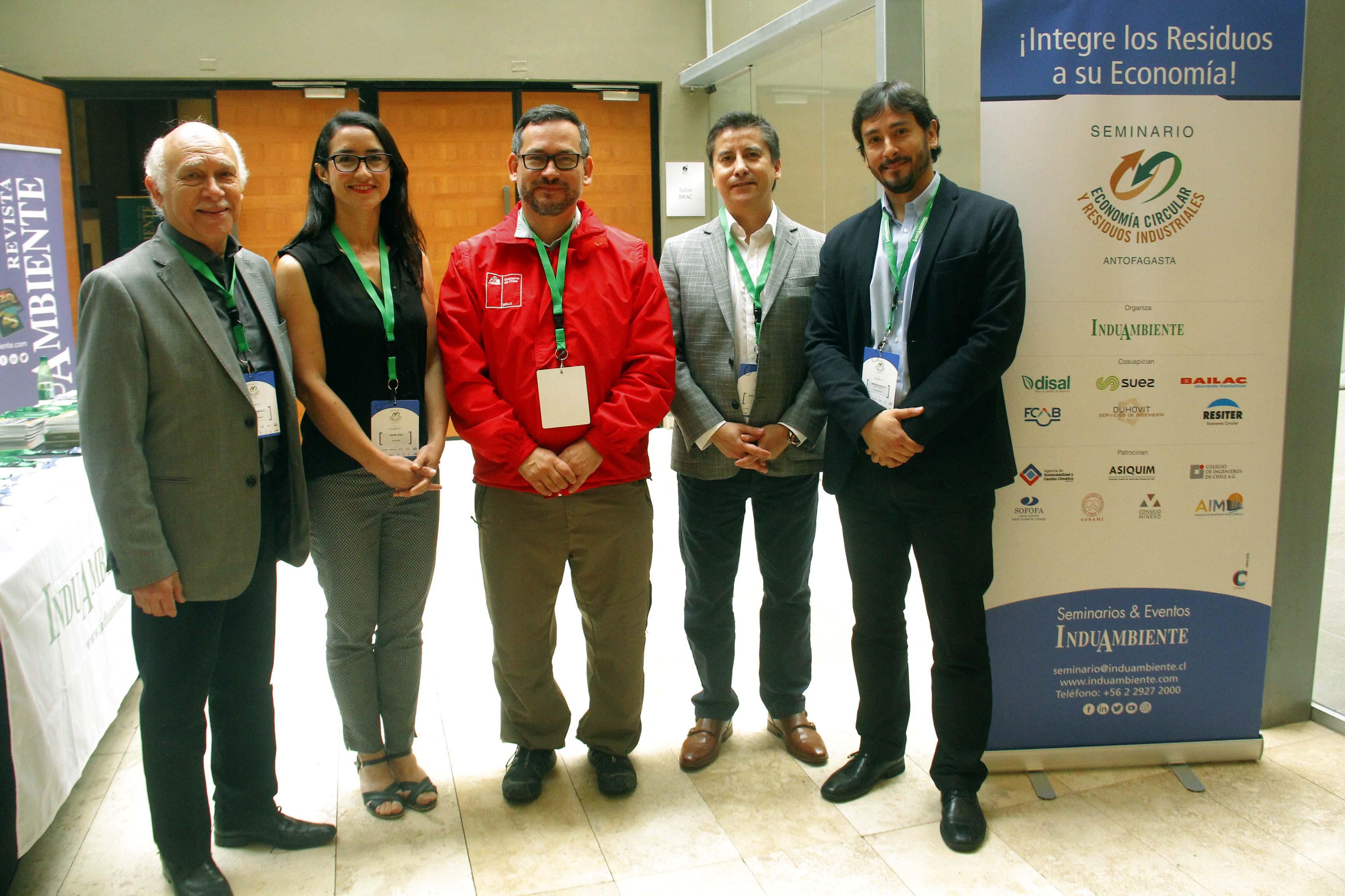 Interesante Seminario sobre Economía Circular y Residuos Industriales en Antofagasta