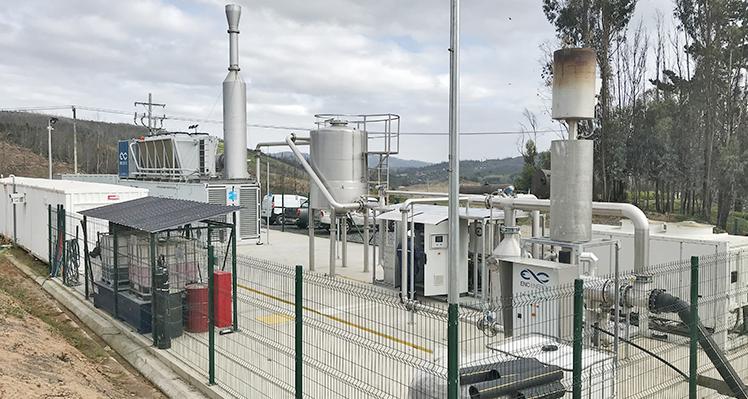 Planta de biogás en Copiulemu reduce GEI y genera múltiples beneficios