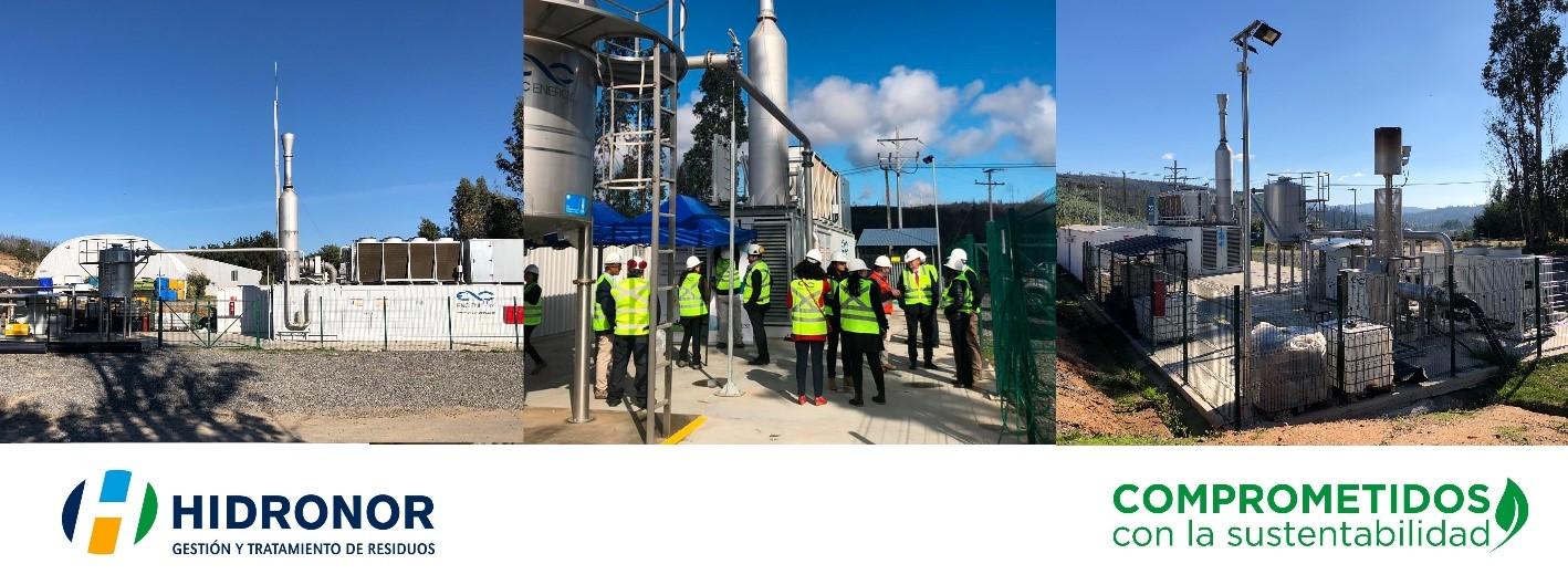 Valorización Energética del Biogás en el relleno sanitario de Hidronor