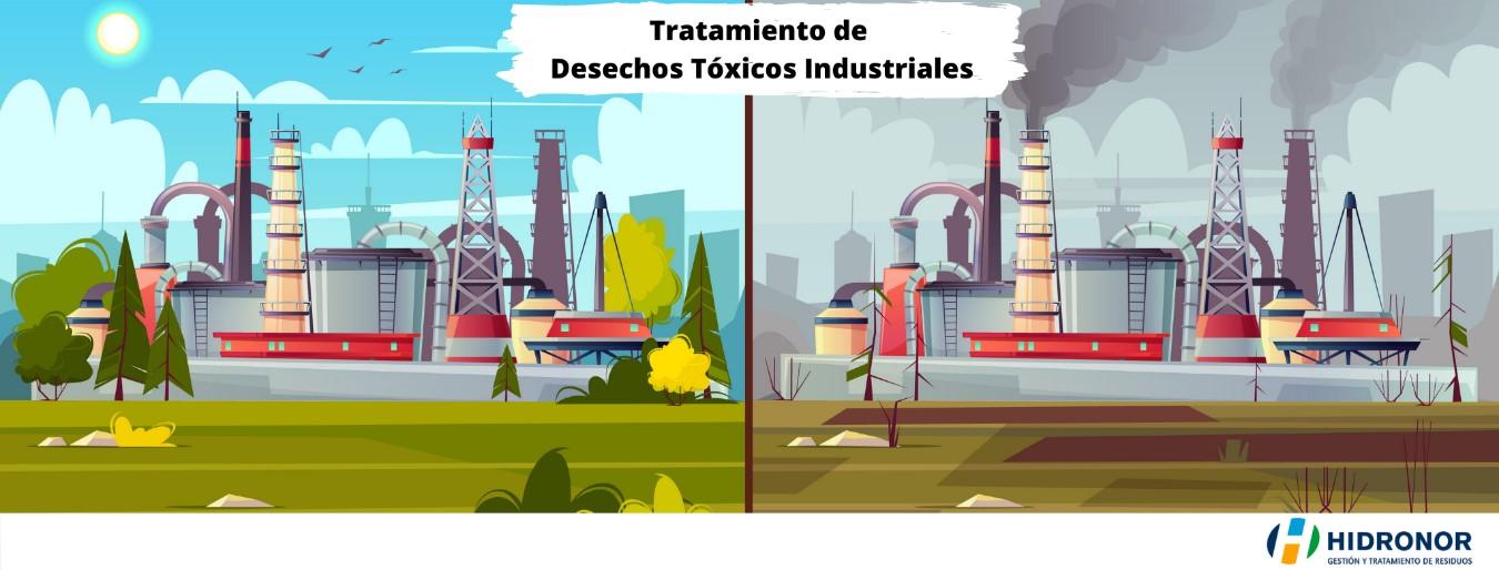Desechos tóxicos industriales: Conoce su impacto en el medio ambiente y cómo aminorarlos