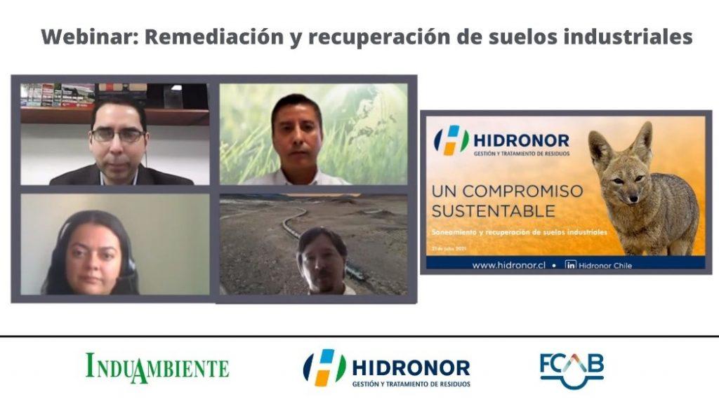 Hidronor webinar alternativas remediacion recuperacion de suelos industriales