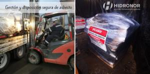 asbesto residuo peligroso disposicion en forma segura Hidronor